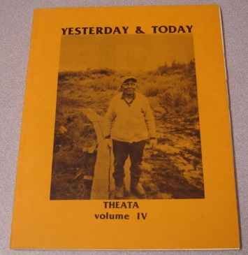 Image for Theata, Volume IV (4, Four): Yesterday & Today