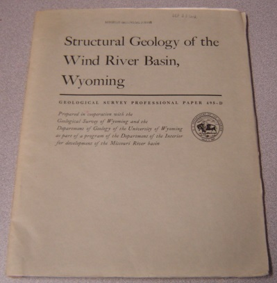 Image for Structural Geology Of The Wind River Basin, Wyoming (Geological Survey Professional Paper 495-D)