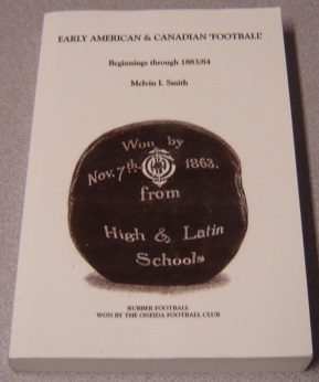 Image for Early American & Canadian 'Football': Beginnings Through 1883/84