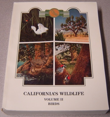 Image for California's Wildlife, Volume II (2, Two): Birds (California Statewide Wildlife Habitat Relationships System)