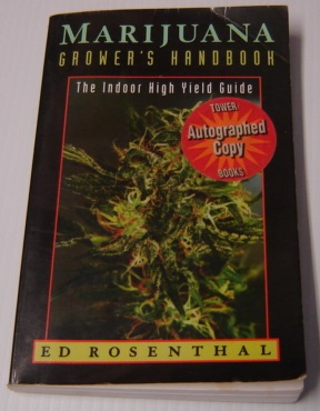 Image for Marijuana Grower's Handbook: The Indoor High Yield Cultivation Grow Guide; SIGNED