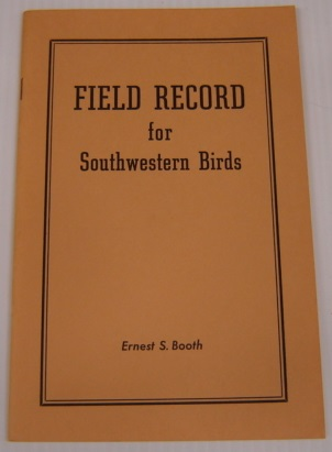 Image for Field Record for Southwestern Birds