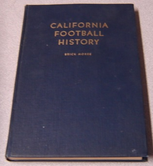 Image for California Football History; Signed