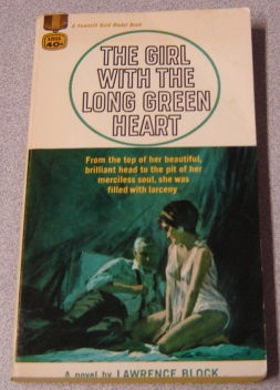 Image for The Girl with the Long Green Heart (Gold Medal #K1555)