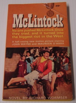 Image for McLintock (Movie Tie-In; Gold Medal K1350)