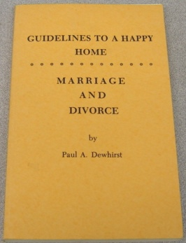 Image for Guidelines to a Happy Home (Part One); Marriage and Divorce (Part Two)