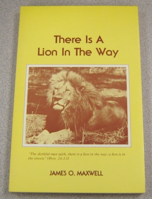 Image for There is a Lion in the Way