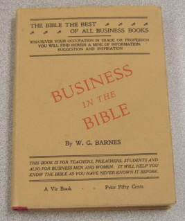 Image for Business in the Bible