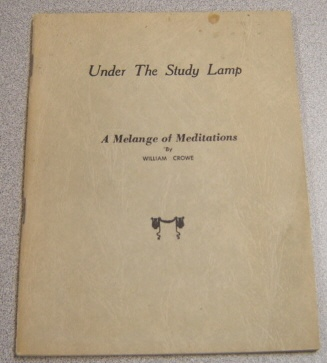 Image for Under the Study Lamp: A Melange of Meditations