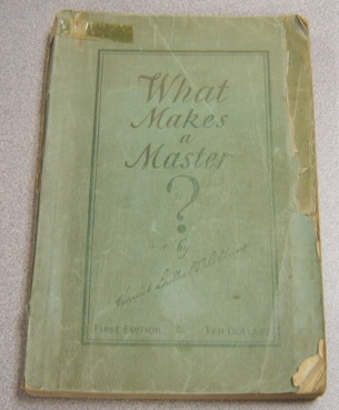 Image for What Makes a Master?