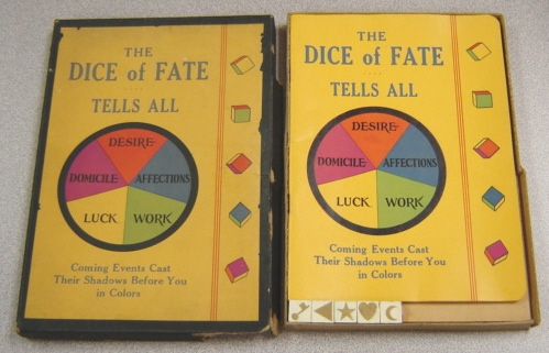 Image for The Dice Of Fate ... Tells All: Coming Events Cast Their Shadows Before You In Colors, Boxed Set