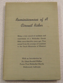 Image for Reminiscenses Of A Circuit Rider; Signed