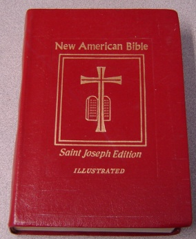 Image for New American Bible, Saint Joseph Medium Size Edition, Illustrated, Handy Edge-Marking Index #609/13R