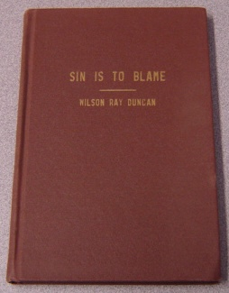 Image for Sin Is To Blame
