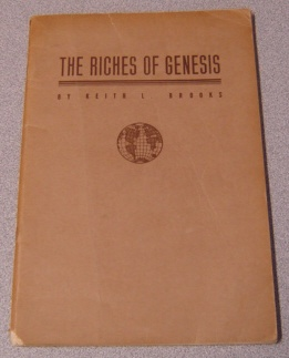 Image for The Riches Of Genesis: A Thorough Course For Individual Or Group, And A Devotional And Practical Commentary