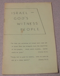 Image for Israel - God's Witness People