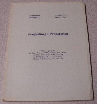 Image for Swedenborg's Preparation (Swedenborg Society Transactions Series; No. 5)