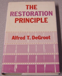 Image for The Restoration Principle