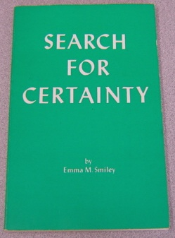 Image for Search For Certainty