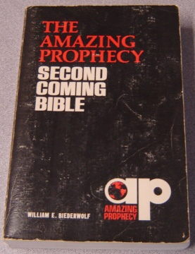 Image for The Amazing Prophecy Second Coming Bible
