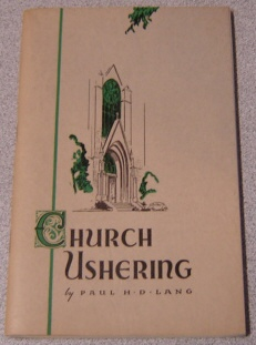 Image for Church Ushering
