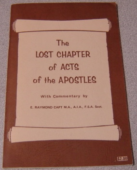 Image for The Lost Chapter of Acts of the Apostles