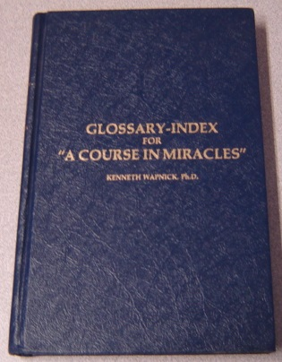 "Image for Glossary-Index for ""A Course in Miracles"""