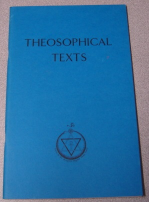 Image for Theosophical Texts