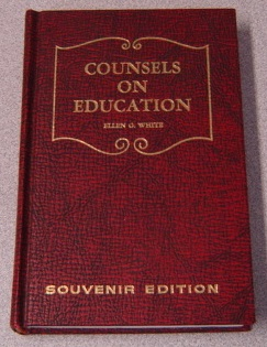 Image for Counsels On Education, As Presented In The Nine Volumes Of Testimonies For The Church, Souvenir Edition