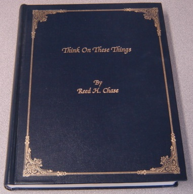 Image for Think On These Things; Signed