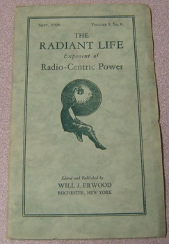Image for The Radiant Life Exponent of Radio-Centric Power, Volume 9 #6, September 1926