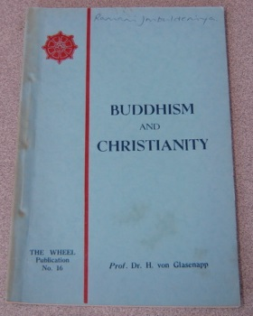 Image for Buddhism and Christianity: Buddhism and the Vital Problems of Our Time; Two Essays
