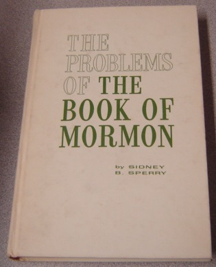 Image for Problems Of The Book Of Mormon