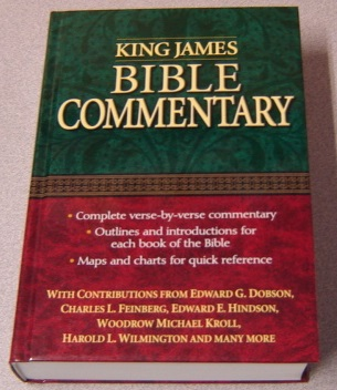 Image for King James Bible Commentary