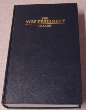 Image for The New Testament / Psalms of Our Lord and Saviour Jesus Christ, Authorized King James Version, Ultra Giant Print