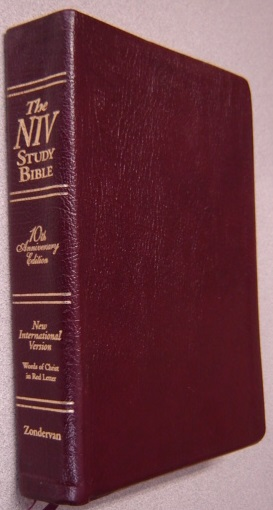 Image for The NIV Study Bible, New International Version, 10th Anniversary Edition, Thumb-Indexed