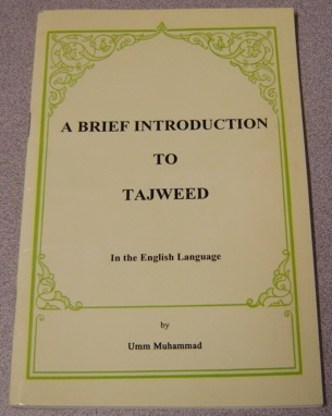 Image for A Brief Introduction To Tajweed In The English Language