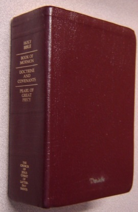 Image for The Holy Bible, Book of Mormon, Doctrine and Covenants, Pearl of Great Price, Thumb-Indexed