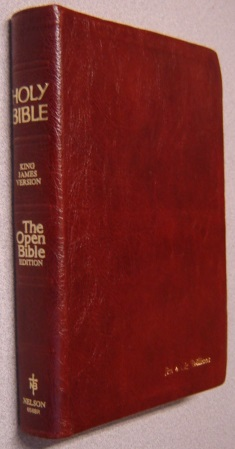 Image for Holy Bible, King James Version, The Open Bible Edition (#656BR)