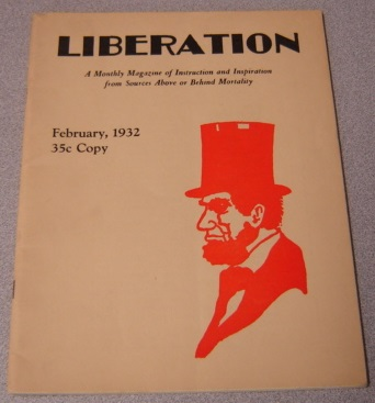 Image for Liberation, Volume 2 #12, February 1932: A Monthly Magazine Of Instruction And Inspiration From Sources Above Or Behind Mortality