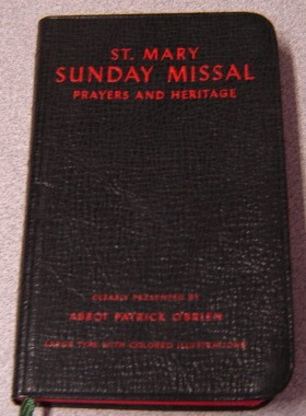 Image for Saint (St.) Mary Sunday Missal: Prayers and Heritage, Large Type with Colored Illustrations