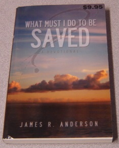 Image for What Must I Do To Be Saved: A Devotional
