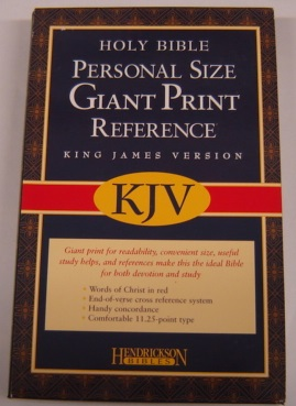 Image for Personal Size Giant Print Reference Bible, King James Version