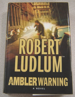 Image for The Ambler Warning, Large Print