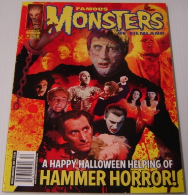 Image for Famous Monsters of Filmland #252, October 2010,  Hammer Horror Cover by Bill Selby