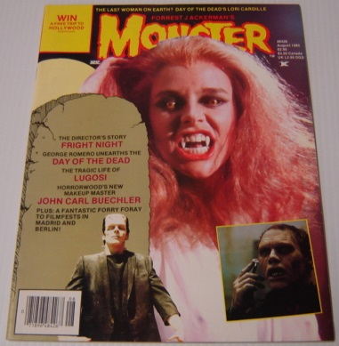Image for Forrest J. Ackerman's Monsterland, August 1985