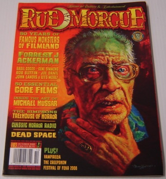 Image for Rue Morgue Magazine Issue # 83 October 2008
