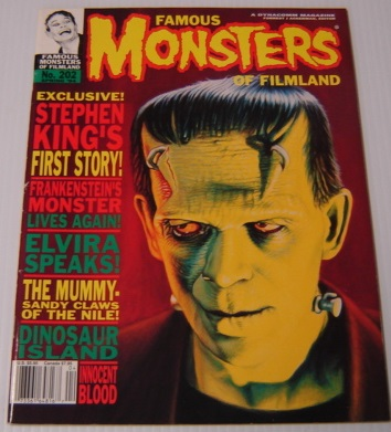 Image for Famous Monsters Of Filmland: Spring 1994, No. 202 (Stephen King's First Story)