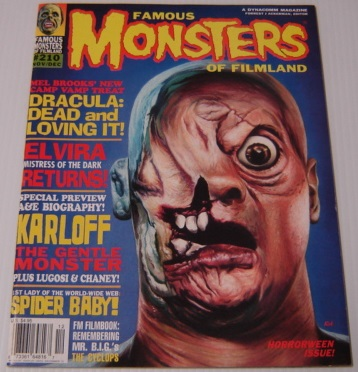 Image for Famous Monsters of Filmland Issue #210, Nov./Dec. 1995