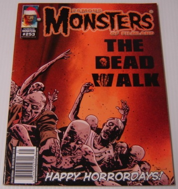 Image for Famous Monsters Of Filmland #253, December 2010: The Walking Dead Color Cover